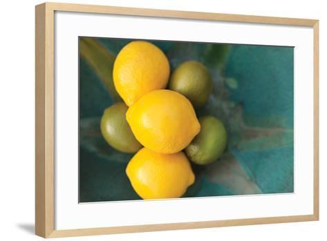 Lemons-Karyn Millet-Framed Art Print