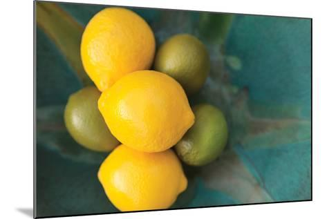 Lemons-Karyn Millet-Mounted Photographic Print