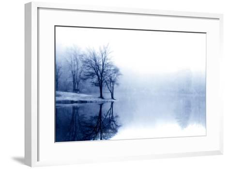 Fog on the Lake III-Alan Hausenflock-Framed Art Print