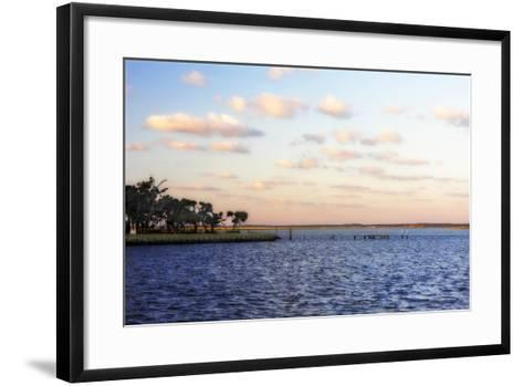 Sunset in the Channel II-Alan Hausenflock-Framed Art Print