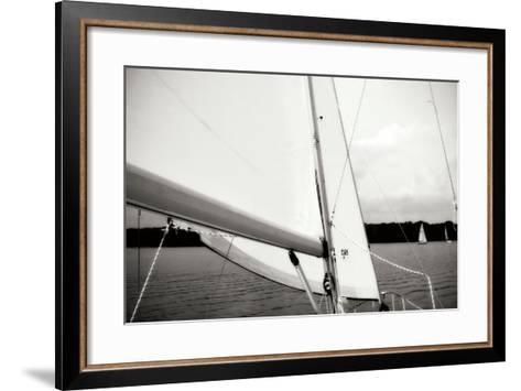 Close Hauled IV-Alan Hausenflock-Framed Art Print