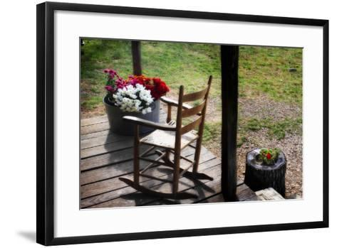 That Ol' Rockin Chair II-Alan Hausenflock-Framed Art Print