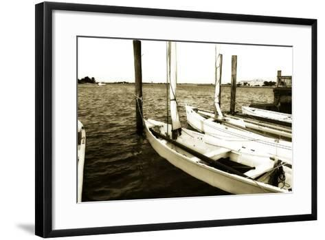 Skiffs III-Alan Hausenflock-Framed Art Print