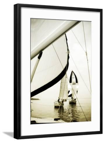 River Sailors I-Alan Hausenflock-Framed Art Print