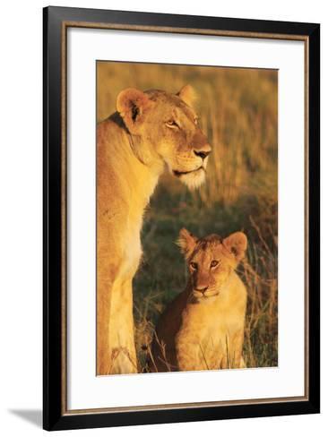 My Mom and I-Susann Parker-Framed Art Print