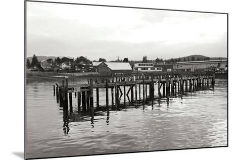 Unsafe Dock BW-Dana Styber-Mounted Photographic Print