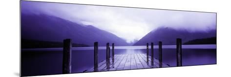 Serene Dock I-Bob Stefko-Mounted Photographic Print