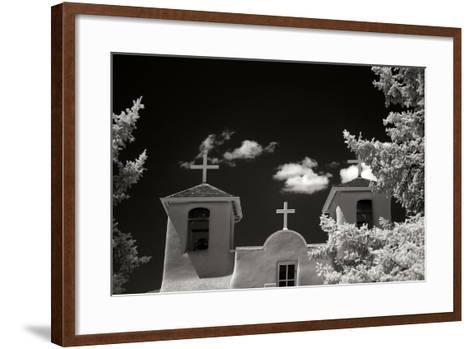 Taos Church II-George Johnson-Framed Art Print