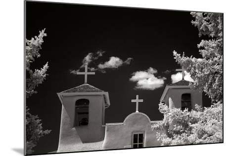 Taos Church II-George Johnson-Mounted Photographic Print