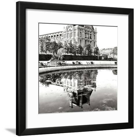 Jardin des Tuileries I-George Johnson-Framed Art Print