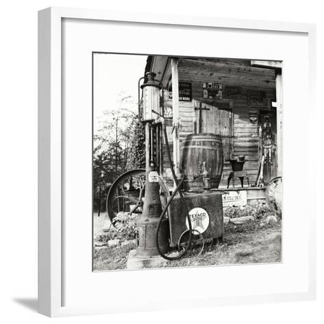 Sautee Store II-George Johnson-Framed Art Print