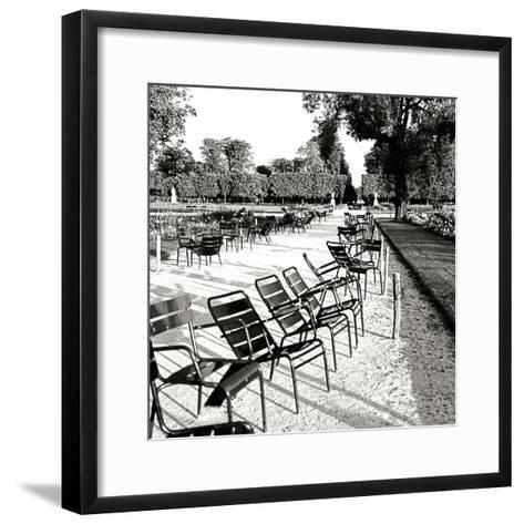 Jardin des Tuileries II-George Johnson-Framed Art Print