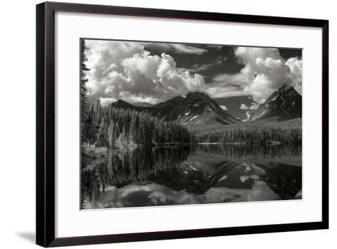 Leach Lake-George Johnson-Framed Art Print