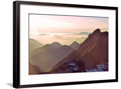 Glacier Peak II-Brian Kidd-Framed Art Print