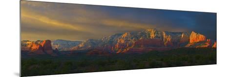 Sedona Sunset-George Johnson-Mounted Photographic Print