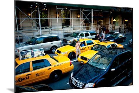 NYC Traffic-Erin Berzel-Mounted Photographic Print