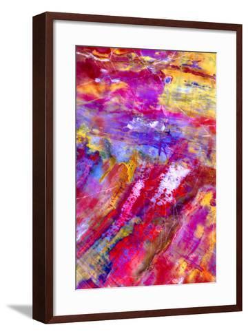 Petrified Wood-Douglas Taylor-Framed Art Print