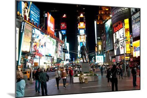 Times Square I-Erin Berzel-Mounted Photographic Print