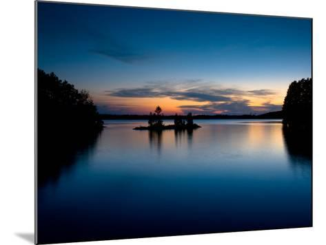 Twilight on the Lake IV-Beth Wold-Mounted Photographic Print