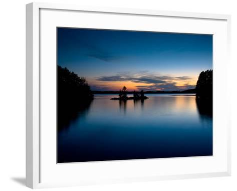 Twilight on the Lake IV-Beth Wold-Framed Art Print