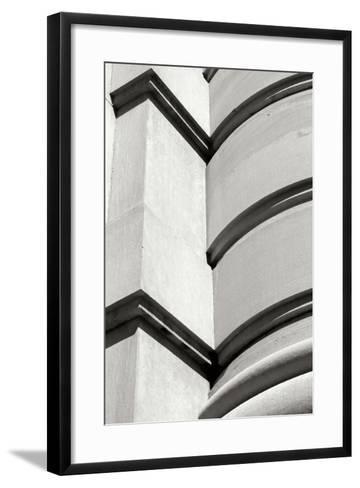 Curved Lines II-Tammy Putman-Framed Art Print