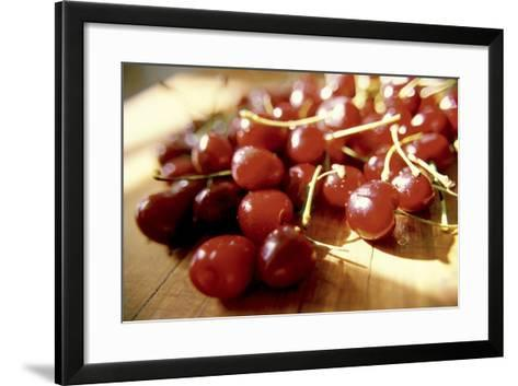 Cherries I-Bob Stefko-Framed Art Print