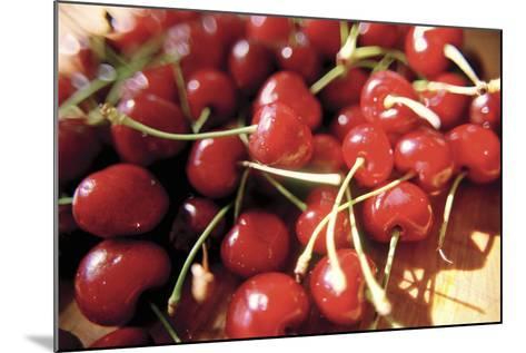 Cherries II-Bob Stefko-Mounted Photographic Print