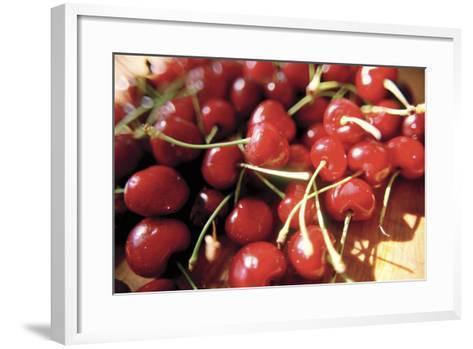 Cherries II-Bob Stefko-Framed Art Print