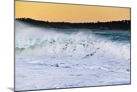 Carmel Waves I-Lee Peterson-Mounted Photographic Print