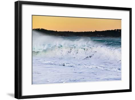 Carmel Waves I-Lee Peterson-Framed Art Print