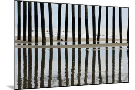 Pier Pilings 23-Lee Peterson-Mounted Photographic Print