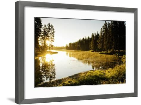 Winchester Lake I-Bob Stefko-Framed Art Print