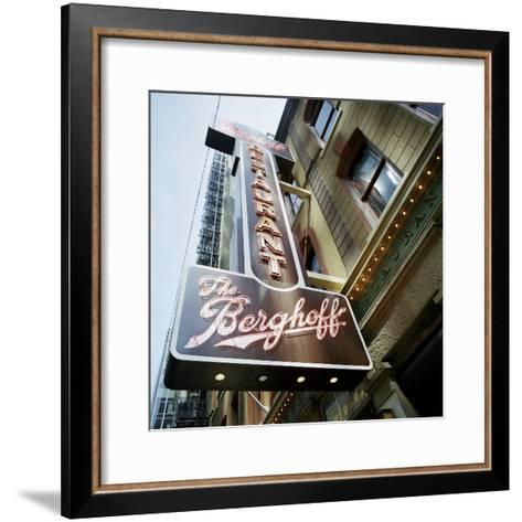 The Berghoff-Bob Stefko-Framed Art Print