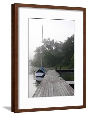 Docked II-Tammy Putman-Framed Art Print