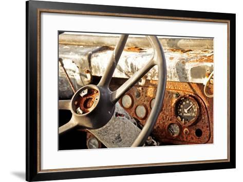 Old Bus II-Brian Kidd-Framed Art Print