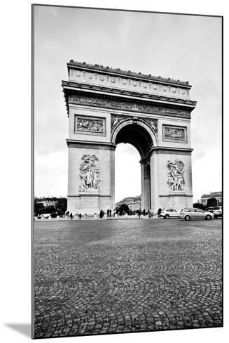 Ave Champs Elysees V-Erin Berzel-Mounted Photographic Print
