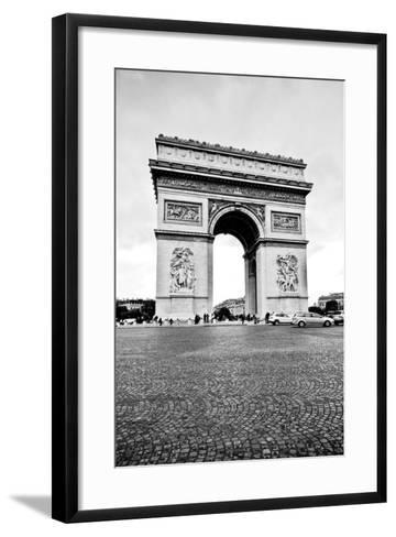 Ave Champs Elysees V-Erin Berzel-Framed Art Print