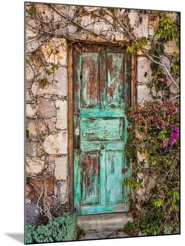 Doorway in Mexico II-Kathy Mahan-Mounted Photographic Print