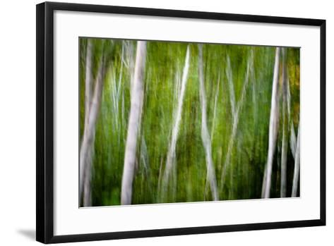 Green Abstract I-Beth Wold-Framed Art Print