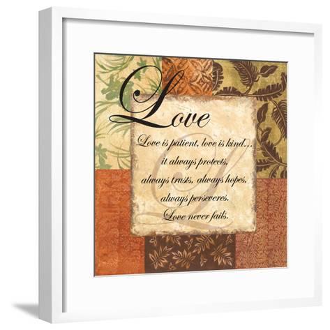 Love - special-Gregory Gorham-Framed Art Print