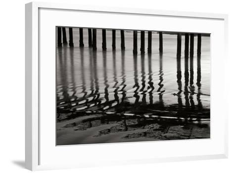 Pier Pilings 14-Lee Peterson-Framed Art Print