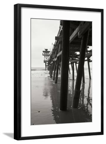 Pier Pilings 17-Lee Peterson-Framed Art Print