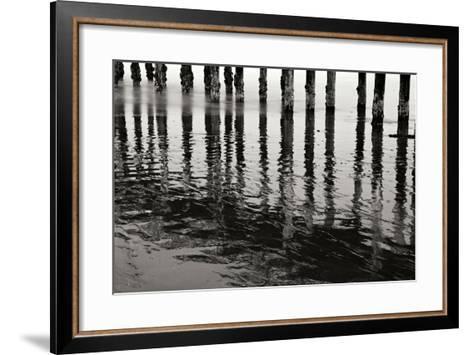 Pier Pilings 15-Lee Peterson-Framed Art Print