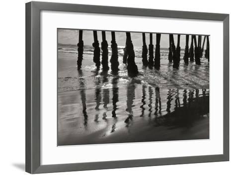Pier Pilings 13-Lee Peterson-Framed Art Print