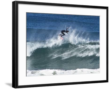 Surfing III-Lee Peterson-Framed Art Print