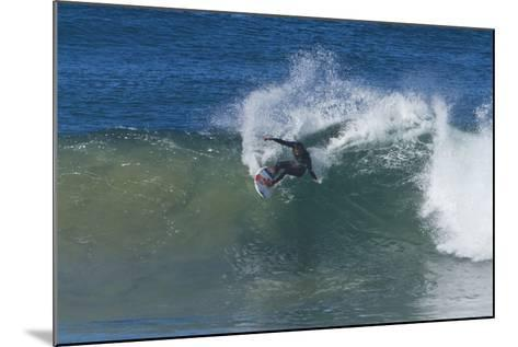 Surfing V-Lee Peterson-Mounted Photographic Print