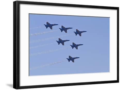 Air Show IV-Lee Peterson-Framed Art Print