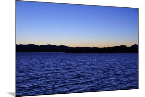 Water Sky Blue-Logan Thomas-Mounted Photographic Print