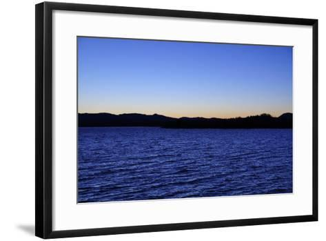 Water Sky Blue-Logan Thomas-Framed Art Print