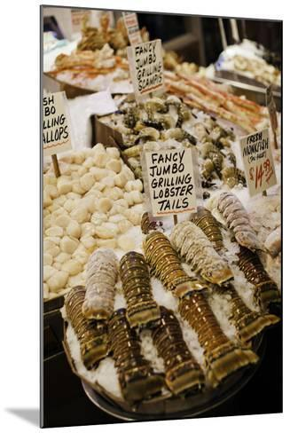 Fresh Seafood I-Bob Stefko-Mounted Photographic Print